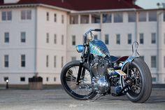Harley choppervia grumpyjay: sportsterarmy: Erik's Evo Chop by Jordan