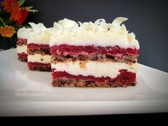 Prăjitura Rubi Delice - fină, aromată..delicioasă | Pasiune & Savoare - YouTube Romanian Desserts, Something Sweet, Vanilla Cake, Tiramisu, Cheesecake, Sweets, Cookies, Ethnic Recipes, Youtube