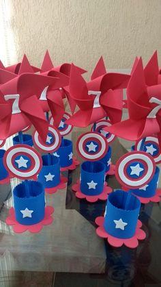Avengers Birthday, Superhero Birthday Party, 21st Birthday, Birthday Parties, Captain America Party, Captain America Birthday, Wonder Woman Birthday, Birthday Party Decorations, Birthdays