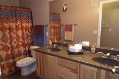 Very large guest bath at www.desertjoy.net