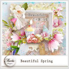 Beautiful Spring :: ALL NEW :: Memory Scraps