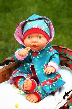 Jolinas Welt: Puppenliebe - Das Weihnachtsgeschenk für nähende Mädchenmamas. Puppenkleidung