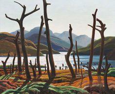 Cranberry Lake - Franklin Carmichael