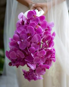 Radiant Orchid Bridal Bouquets