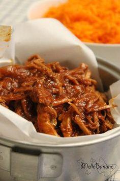 Pulled pork - Porc effiloché