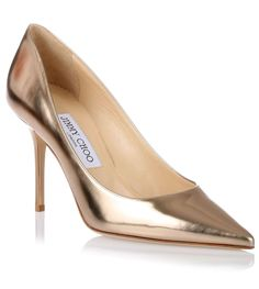 7fbb33a8c77 Agnes nude mirror leather pump Jimmy Choo - Savannah s Chaussures Haut  Talon