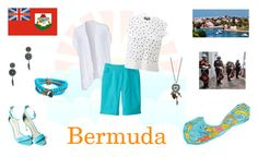 """World - bermuda"" by cardissa on Polyvore featuring Phax, SlimSation, Aéropostale, Tory Burch and Giambattista Valli"