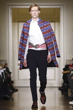 Stella Jean Menswear Fall Winter 2015 Milan