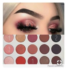 eyeshadow for beginners - Eyeshadow Tutorial Makeup Goals, Makeup 101, Makeup Inspo, Makeup Inspiration, Beauty Makeup, Brunette Makeup, Nude Makeup, Skin Makeup, Jaclyn Hill Eyeshadow Palette
