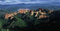 LAS MEDULAS - ancient Roman gold mines, with guided tour. UNESCO.