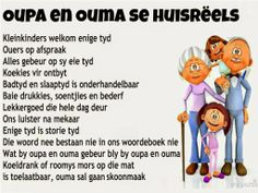 So het elke oupa en ouma hul eie reels. Dad Quotes, Some Quotes, Afrikaans Language, Afrikaanse Quotes, Comfort Quotes, Kids Poems, Teaching Letters, Father's Day, Grandparents Day