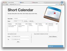 Short Calendar - your agenda in email