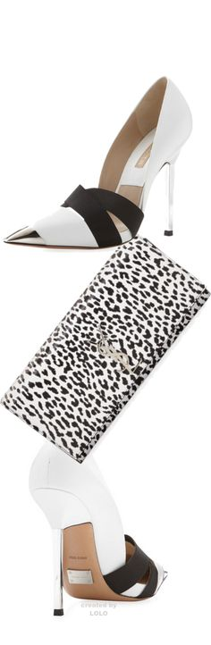 Michael Kors Shoes and YSL Clutch