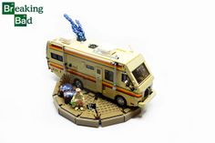 Lego Walter White and the breaking bad RV
