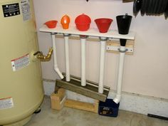 Funnel drip recovery system What's on your walls? Neat storage ideas! - Page 3 - The Garage Journal Board