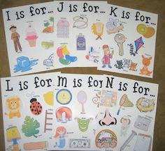 It's a Preschool Party: Alphabet