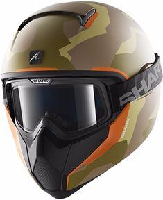 Capacete para Moto Shark Spartan Karzen Ykk Amarelo Pulse Division 422ee38fd85