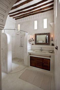 home_decor - Stunning Cob House Interior Design Ideas Cob House Interior, Home Interior Design, Tadelakt, Natural Building, Green Building, Beautiful Bathrooms, Dream Bathrooms, Creative Home, Design Case