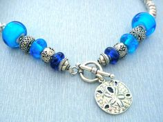 Return to the Sea Necklace Lampwork Glass by BellaBeadMercantile, $128.00