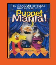 Puppet Mania - Puppet making workshop teens teach kids