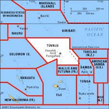 Image result for tuvalu map