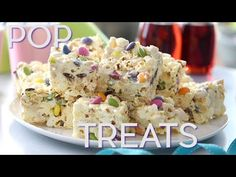 foodiesofsa | Marshmallow and Popcorn Squares