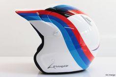 casco personalizzato bmw