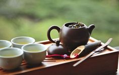 """""""Thank the heavens for tea. How did people ever come together without it?"""" ― Jeannie Lin, My Fair Concubine Tea Quotes, Flower Tea, Chinese Tea, Tea Ceremony, Heavens, Tea Time, Tea Party, Tea Sets, Coffee"""