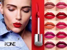 Oriflame The ONE Lip Sensation Matte Mousse Liquid Lipstick Oriflame Beauty Products, Avon, Lipstick Collection, Lipstick Shades, Eyeshadow Looks, Matte Lips, Beauty Make Up, Beauty Routines, Liquid Lipstick