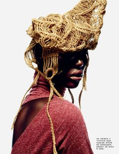 Ajak Deng for Numéro China #23 November 2012 by John-Paul Pietrus