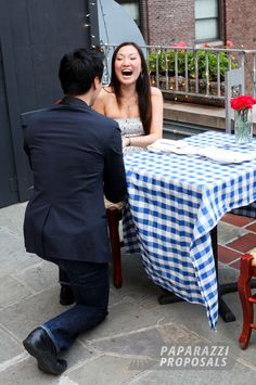 After watching the clip from 'How I met your mother' with the 2 minute date, Ernest, with the help from The Heart Bandits created a perfect proposal, with laughter, flowers, dinner, a movie and dancing this was proposal to top them all!  We hope you enjoy the pictures and coming soon is an amazing video of the whole proposal!