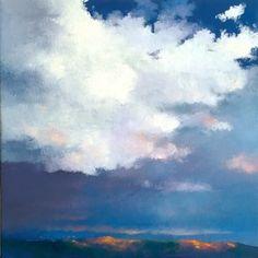 LIGHT SHOW, painting by artist Gerald Schwartz