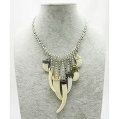 Simpleness Euramerican Jewelry Delicate Imitation Ivory Crystal Necklace