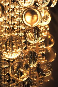 Gold Baubles