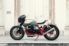 The Moto Guzzi Mille GT like you've never seen it before—customised by Redonda…