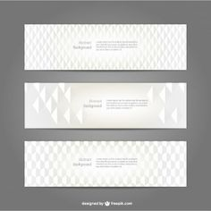 Blank banners set free download