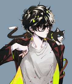 Ren Amamiya vs series x - Mi Hermoso Mundo Persona 5 Anime, Persona 5 Joker, Persona 4, Boys Anime, Cute Anime Boy, Anime Neko, Dark Anime, Ren Amamiya, Anime Triste