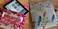 iPad Case with Handle Variations tutorial || Jen Carlton Bailly for Sew,Mama,Sew!