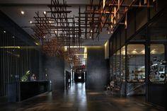 sofitel so bangkok Hotel Reception, Reception Design, Lobby Lounge, Hotel Lobby, Corporate Interiors, Hotel Interiors, Commercial Design, Commercial Interiors, Thai Design