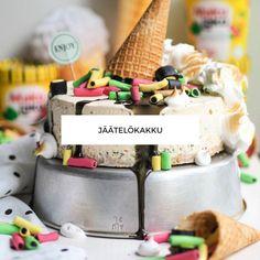 JÄÄTELÖKAKKU Oreo, Dairy, Ice Cream, Cheese, Food, No Churn Ice Cream, Gelato, Meals, Yemek
