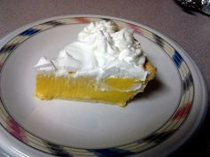 """Creamy Lemon Pie (Gfdm86A)! 5.00 stars, 3 reviews. """"This is the easiest lemon pie I've ever made. absolutely wonderful taste as well as texture. :positive"""" @allthecooks #recipe"""