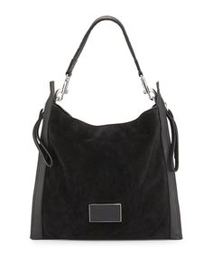 66ff9b1517 MARC by Marc Jacobs Zip That Suede Hobo Bag