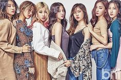 [MOMOLAND] Hyebin was my favorite in the show but like idk any of them... Can anybody tell me who they are from left to right? #momoland#kpop