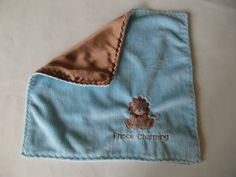 Prince Charming Lovey, Lion Lovey, Boy Lovey, Embroidered Lovey, Minky Lovey, Silky Lovey, Baby Blanket, Simply Soft Creation on Etsy, $19.00 CAD