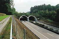 US State DOT Wildlife Crossing Structures: Roads and highways encroach on wildlife habitats, increasing the risk of vehicle/wildlife interactions and posing a danger, not only to the wildlife, but often to drivers as well...  This guide identifies many of the studies and guidelines currently in use by transportation agencies.  Photo: FHWA overpass