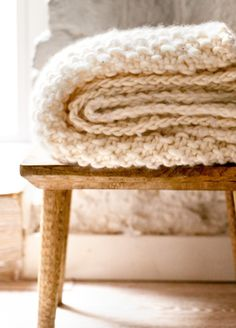 Use code FLAXANDWAK for 15% off Udon Blanket at We Are Knitters