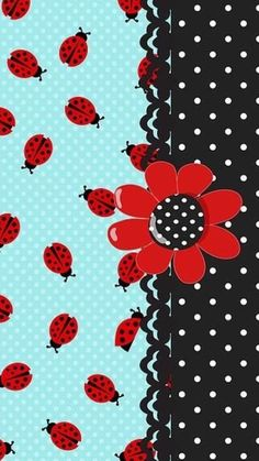 Lady Bugs and Polka Dots Wallpaper Lace Wallpaper, Diamond Wallpaper, Butterfly Wallpaper, Mobile Wallpaper, Wallpaper Backgrounds, Summer Wallpaper, Cool Wallpapers For Phones, Pretty Wallpapers, Cellphone Wallpaper