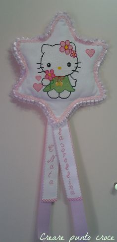 Coccarda stella Hello Kitty