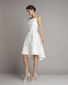 Los mejores vestidos de novia cortos