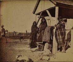 COMANCHE WOMEN , 1890